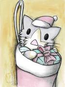 サンタ酒匂猫