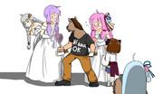 馬頭分の花嫁