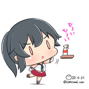 矢矧 艦これワンドロ 201227