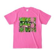 Tシャツ ピンク Grass_Tower