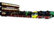 2020年に配布したMMD鉄道モデル
