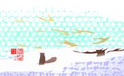 「満開の雪」※POP・おむ09150