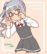 【エアスケブ】メガネの霞ママ