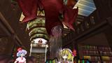 紅い館の図書館に住む赤い影