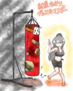 紲星あかりとグルメなマスター2期『あかりちゃんお手製の等身大マスター人形』