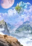 【TRPG】【フリー素材】浮遊する城【ゲーム使用OK】【ファンタジー】