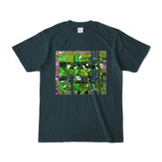 Tシャツ デニム Grass_Tower