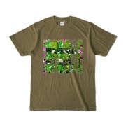 Tシャツ オリーブ Grass_Tower