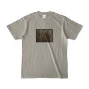 Tシャツ | シルバーグレー | 流・風月