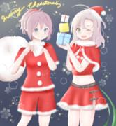 クリスマス青葉衣笠