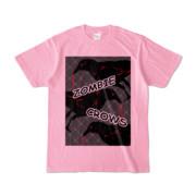 Tシャツ | ピーチ | ゾンビカラスちゃん