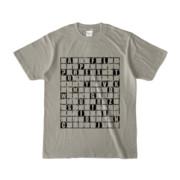 Tシャツ | シルバーグレー | ALPHABET_GRAVEL