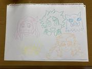 妹の娘の為に描いた鬼滅の絵