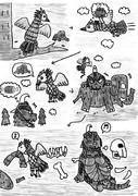 【1P漫画】もしもゴメスとリトラが、共生関係を築いていたら。