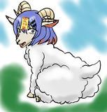 羊になったあずきアイス藍丸