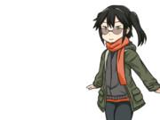 【GIFアニメ】あけおめ川内さん
