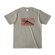 Tシャツ | シルバーグレー | Dragonfly_LEMON