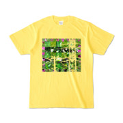 Tシャツ イエロー Grass_Tower