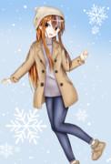 冬服ギャラ子さん