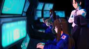 【スターラスターガール】 太陽系決戦回冒頭02