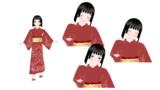 【MMDオリキャラ】辰砂【モデル配布】