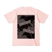 Tシャツ | ライトピンク | ゾンビカラスちゃん