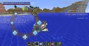 #Minecraft 水面で滞空するR.I.N.G. #JointBlock