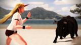 【MMD】猛牛と戦う空手鬼