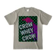 Tシャツ   シルバーグレー   CROW_WHEY_CROW