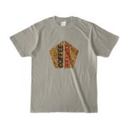 Tシャツ   シルバーグレー   五角☆互角COFFEE
