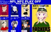 【けもフレ×NFL】翌朝3時から遂にプレーオフ!【NFC編】