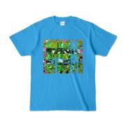 Tシャツ ターコイズ Grass_Tower