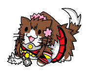 ホワイトリスを踏む大和猫