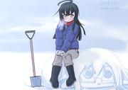 雪かきみっか