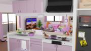 背景用素材 - VOICEROIDキッチン
