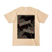 Tシャツ | ナチュラル | ゾンビカラスちゃん