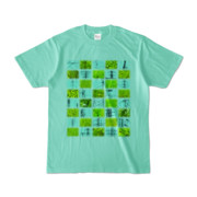 Tシャツ アイスグリーン Steel20_and_Grass20