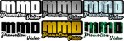 「MikuMikuDance」のプロモーションビデオ用ロゴ