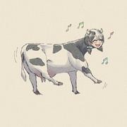 踊るうしガール