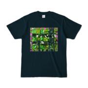 Tシャツ ネイビー Grass_Tower