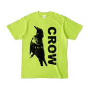 Tシャツ | ライトグリーン | CROW_FirstONE