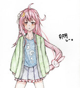 卯月さんとお絵描き練習4
