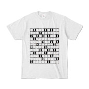 Tシャツ | アッシュ | ALPHABET_GRAVEL
