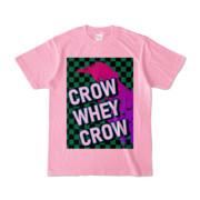 Tシャツ | ピーチ | CROW_WHEY_CROW