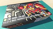 ゾロアット / 16色ドット絵ガンプラ箱絵風3D