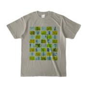 Tシャツ シルバーグレー Steel20_and_Grass20