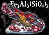 Fe3Al2(SiO4)3