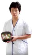 寿司桶くんと記念撮影する第二のいなり男PNG