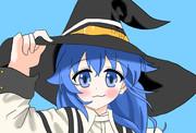 青髪の三つ編み魔術師ロキシー
