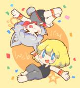 アクロ&バット☆